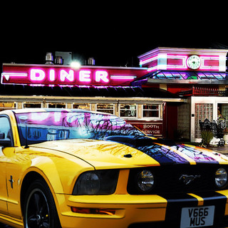Mustang now at the diner