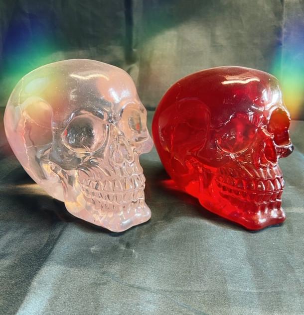 resin skulls (heavy) £30 each