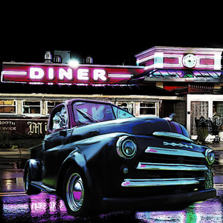 Dodge Truck Transported to american diner