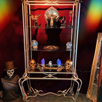 our gothic display stand