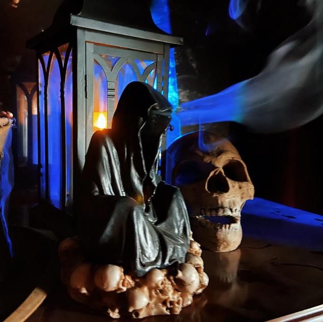 Reaper Incense Burner £20