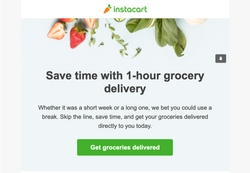 Instacart Delivery Services