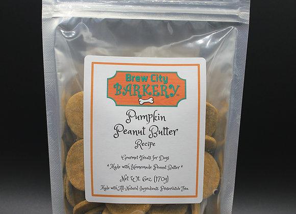 Pumpkin Peanut Butter 6oz. bag