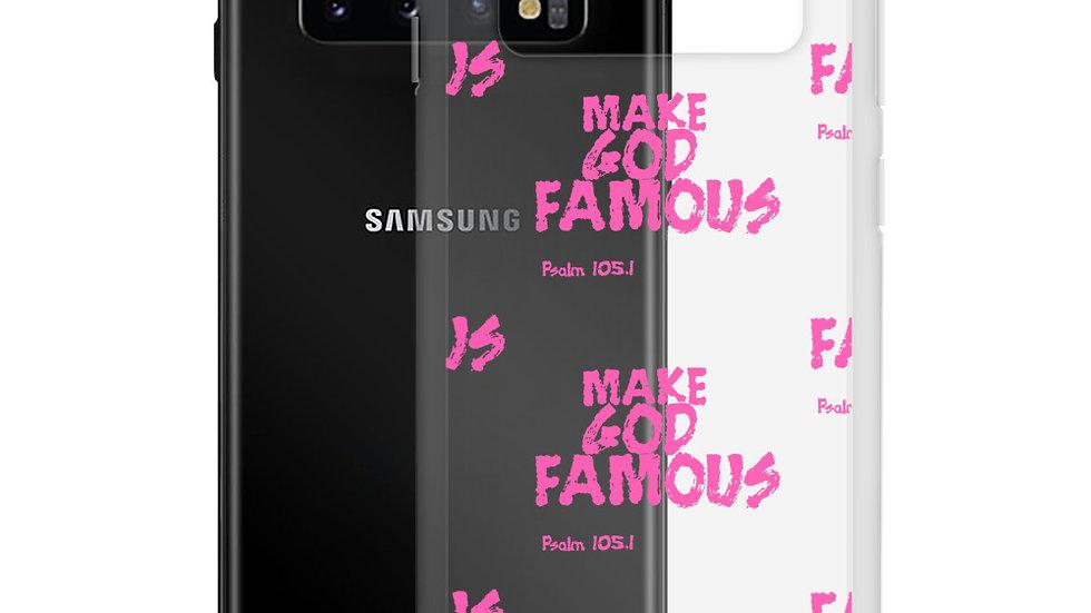 Pink MGF- Samsung Case