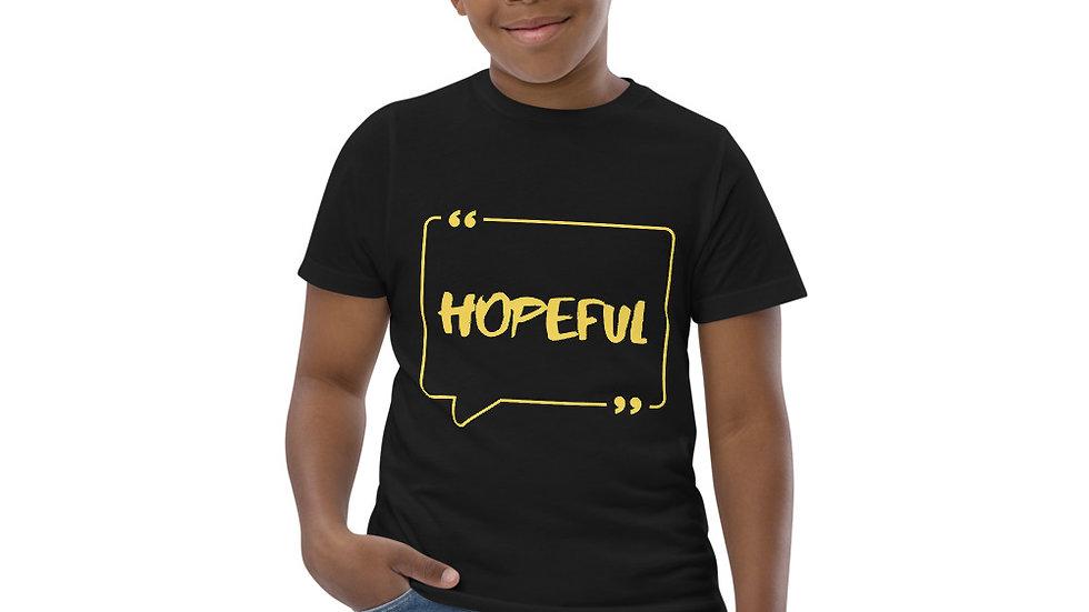 HOPEFUL Unisex Youth jersey t-shirt