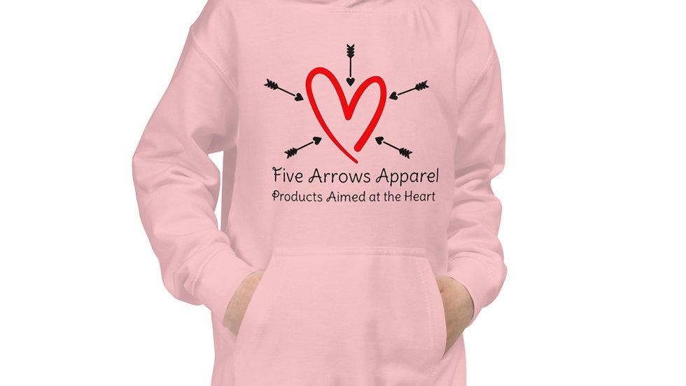 5 Arrows Apparel Logo Kids Hoodie