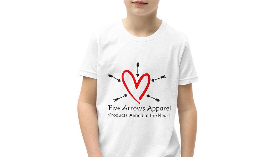 5 Arrows Apparel Logo Youth Short Sleeve T-Shirt