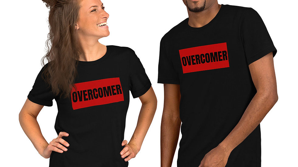 Overcomer Short-Sleeve Unisex T-Shirt