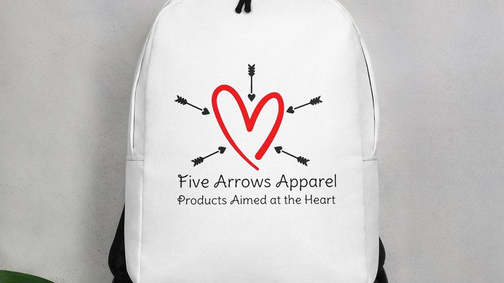 5 Arrows Logo Minimalist Backpack