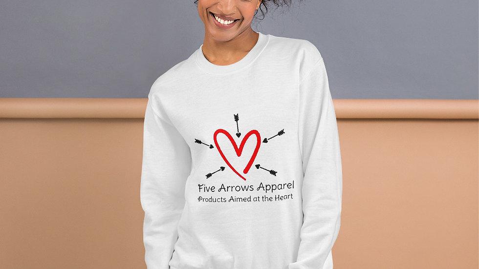 5 Arrows Apparel Logo Unisex Sweatshirt
