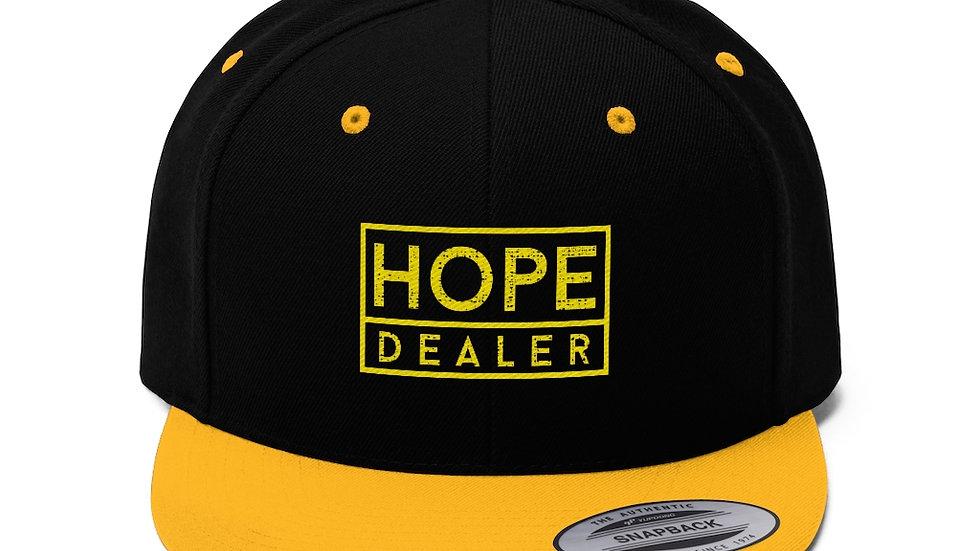 Hope Dealer Unisex Flat Bill Hat