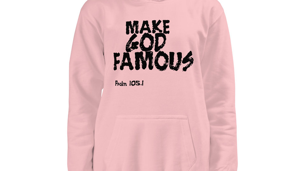 MAKE GOD FAMOUS Youth Hoodie