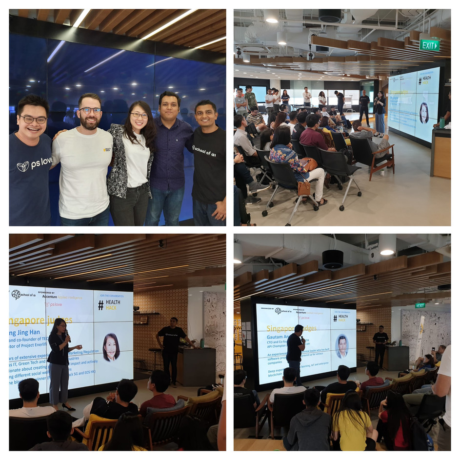 School of AI Health Hackathon - Singapore