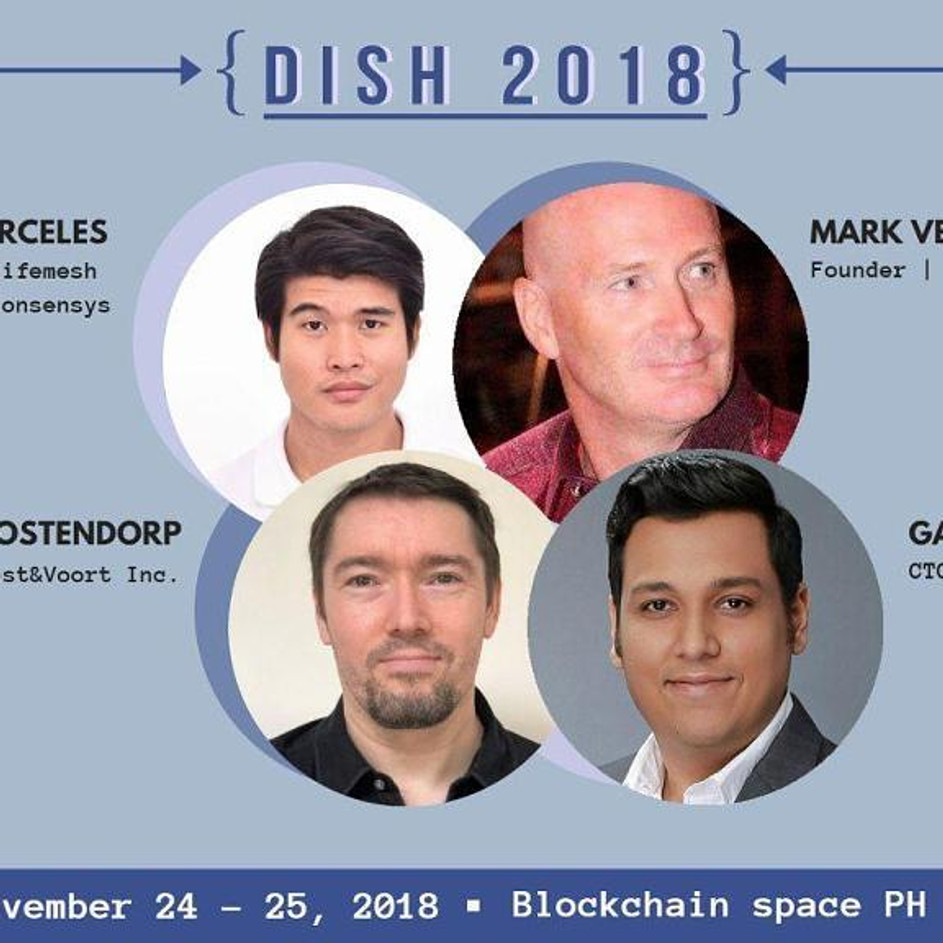 Decentralized Innovations Startups' Hackathon (DISH) - Manila, Philippines