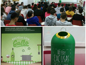 """Charla de Ecovidrio """"Recicla con gusto"""""""