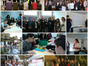 Encuentro en Francia del alumnado del Proyecto KA2 Erasmus+