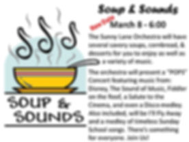 Soup & Sound - powerpoint announcement.j
