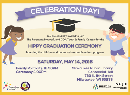HIPPY Graduation Invitation