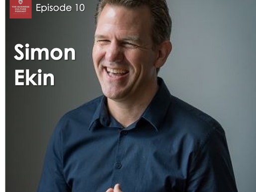 Business Culture Podcast - Episode 10 - Simon Ekin - Lessons from Coaching Captains of Industry