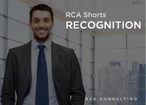 RCA Shorts - Learning from 10 Years in Business - Recognition
