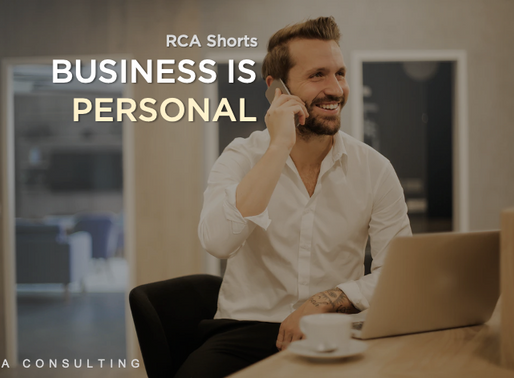 Business is Personal - RCA Shorts - Lessons after 10 Years in Business