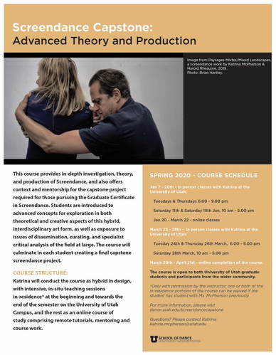 Announcing Exciting Workshops @ The University of Utah!