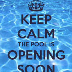 The Pool Opens this Saturday