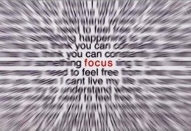 Think Differently - focus