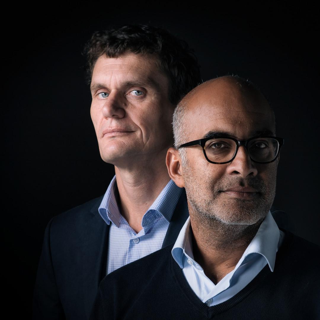 Martijn Bakker en Sarriel Taus