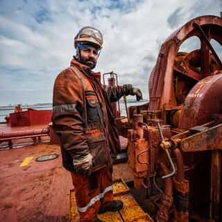 Engineer on board bulk carrier