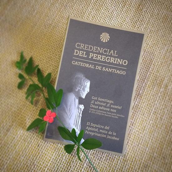 Credencial Original Peregrino IMPORTADA