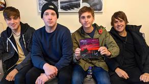 The Sherlocks - Signed Single Giveaway