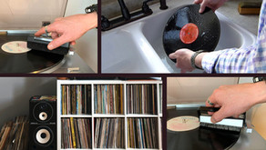 How To Clean Your Vinyl Records On A Budget