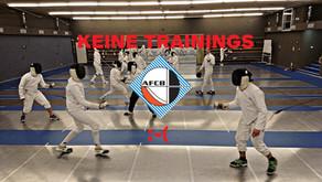 Keine Trainings