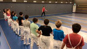 Gemeinsames Training Fünfkampf & AFCB