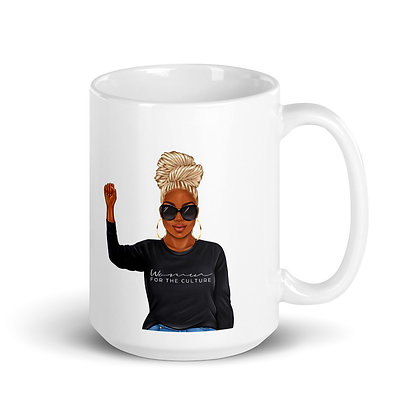 """I AM A WOMAN FOR THE CULTURE"" MUG"