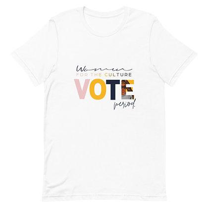 """""""W4TC Vote"""" Short-Sleeve Unisex T-Shirt"""