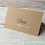 Thumbnail: Vintage Pearl Natural Brown Place cards