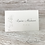 Thumbnail: Subtle Alice in Wonderland Place card (alice)