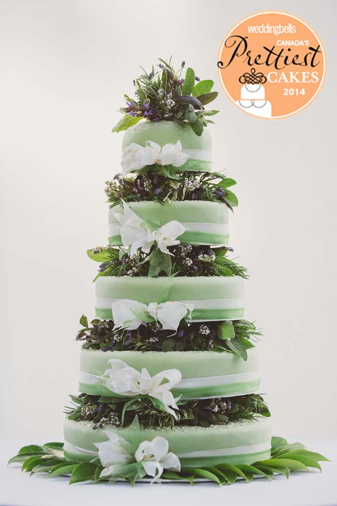 Wedding Bells Prettiest Cakes 2014
