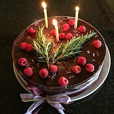 Belgian Chocolate Berry Torte