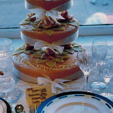 Queen Isabella Wedding Cake