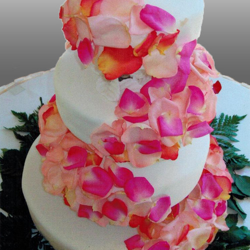 Floral Decoration Wedding Cake