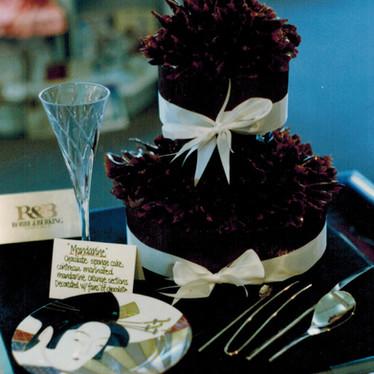 Chocolate King Henry Wedding Cake