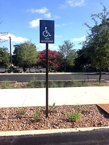 ADA Accessibility Parking Sign