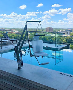 ADA Swimming Pool Lift Chair