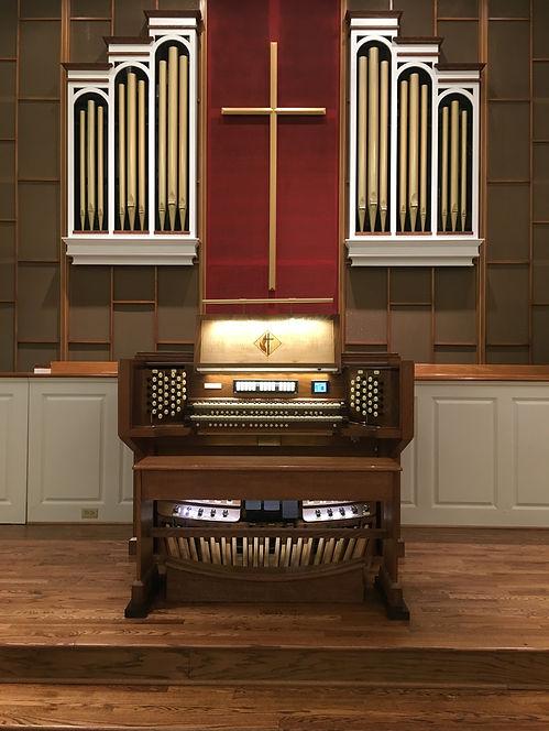 luley & associates pipe organ grace umc hagerstown