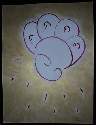 énergie dessin énergétique taux vibratoire création spiritualité courage rayonner énergie