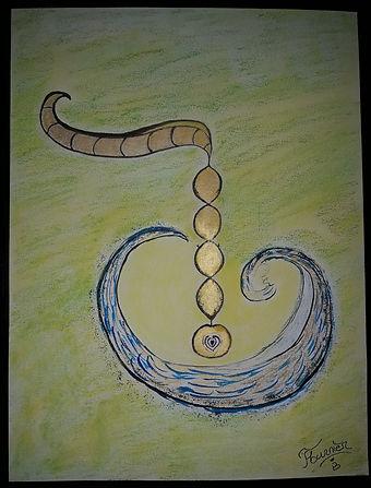 énergie l'ouverture du coeur dessin énergétique taux vibratoire création créativité humble simple ego spiritualité
