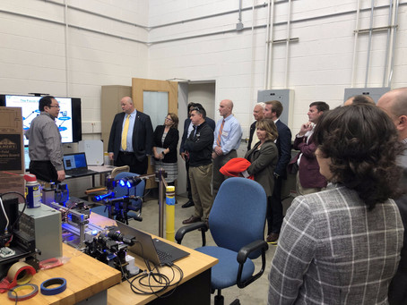 ISE Advisory Board was visiting SMART Lab on October 17, 2019!